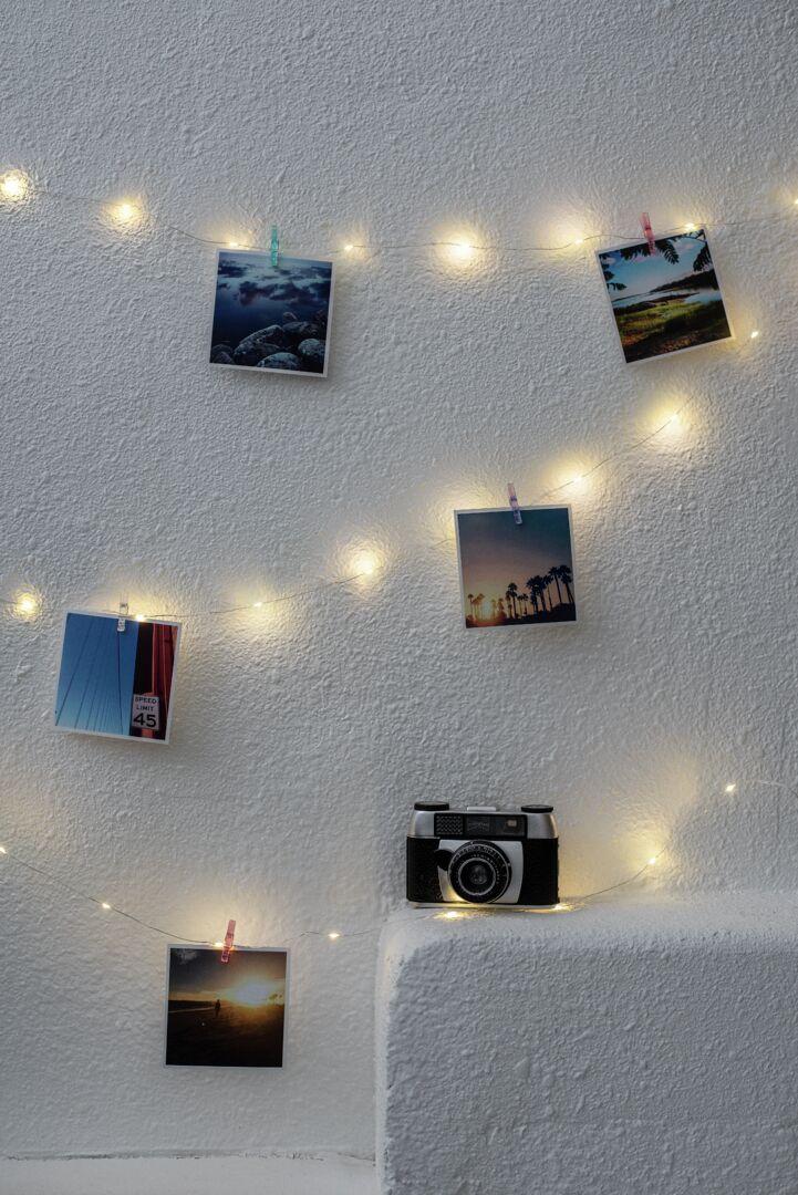 Klipsi valolankasarja korostaa kuvia ja muistoja kivalla tavalla.